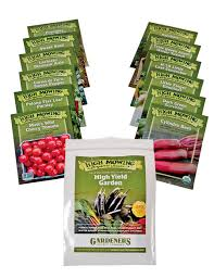 garden seeds.  Seeds High Yield Vegetable Garden Organic Seeds Set Of 12 And Seeds T