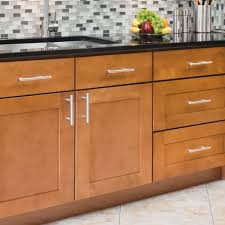 do you know how to create the stainless steel cabinet pulls