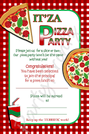 pizza party invitation template party ideas pizza party invitation template