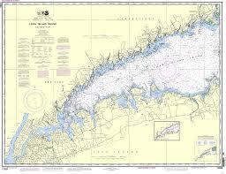 Noaa Nautical Chart 12363 Long Island Sound Western Part