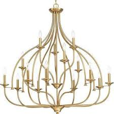 tinsley collection 15 light brushed bronze chandelier