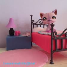 Littlest Pet Shop Bedroom Decor Lps Diy How To Set Up For A Bedroom Picture Youtube