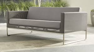 outdoor furniture crate and barrel. Decoration: Crate And Barrel Patio Furniture Covers Incredible Dune Sofa With Sunbrella Cushions Intended For Outdoor U