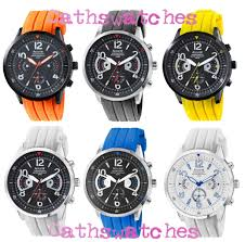 accurist gents acctiv sports chronograph silicon strap watch image is loading accurist gents acctiv sports chronograph silicon strap watch