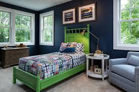 blue and green bedroom. Delighful And Blue And Green Boy Bedroom With Bamboo Bed To And M
