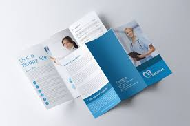 Healthcare Brochure Adorable 44 Well Designed Examples Of Medical Brochure Designs WebDesignerDrops