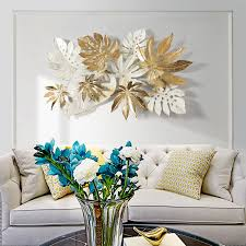 3d wrought iron wall hanging nordic