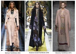 floor length coats make a sweeping statement for fall winter 2016