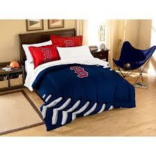 5pc mlb boston red sox baseball twin bedding set