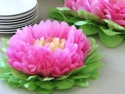 Tissue Paper Flower Centerpieces Paper Flower Centerpiece Diy Wedding Paper Flower