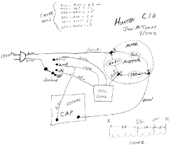 hunter ceiling fan motor wiring diagram wiring solutions Ceiling Fans with Lights Wiring-Diagram hunter zephair 3 speed fan wiring problem post 1950 vintage hunter ceiling fan replacement capacitor and wiring harness