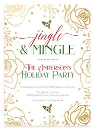 Images Of Christmas Invitations Jingle And Mingle Christmas Party Invitation 4