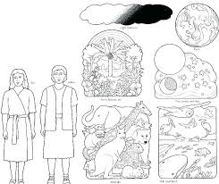 Days Of Creation Coloring Pages Dr Schulz