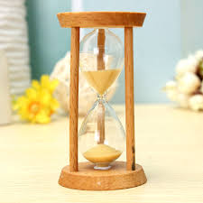 Unique Kitchen Gift 3 Minutes Wooden Sand Clock Sandglass Hourglass Clock Home Decor