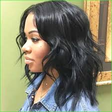 Mid Length Black Hair Styles Admirable 26 Hairstyles For Medium