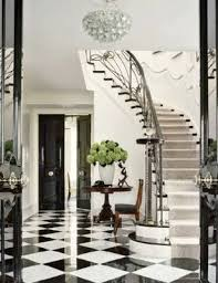 How Fantastic Is That Glossy Hunter Green Door? And Leading Into An Equally  Shiny Checkered Hallwayu2026 This Is Such A Classic Look.