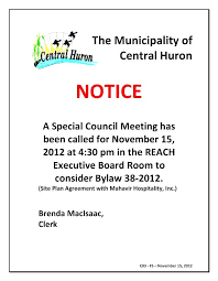 Staff Meeting Announcement Template Teran Co