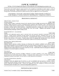 General Resumes Samples General Objective For Resume Objectives