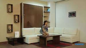 Amazing space saving furniture India for modern small apartment wall