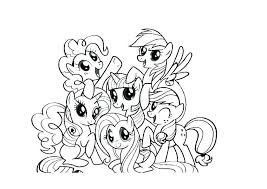 Coloring Pages My Little Pony Coloring Book Game Pages Printable