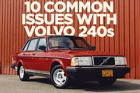 top 10 common issues volvo 240 models
