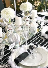 red and silver table decorations. Black And Silver Table Decor Red Decorations