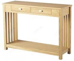 seconique ashmore ash veneer 2 drawer console table