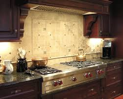 stove backsplash metal plain matte white kitchen cabinet caramel brown wooden floor plain yellow kitchen cabinet plain white gas stove glossy light grey