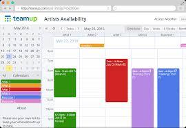 Teamup Calendar Shared Online Calendar For Groups Organizing
