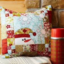 434 best Sew Fun Quilting images on Pinterest | Painting, Autumn ... & A fast-to-fuse appliquéd snowman will impart a friendly welcome all winter  long. Christmas QuiltingChristmas PillowChristmas ... Adamdwight.com