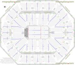 Centre Videotron Seating Chart Detailed Seat Row Numbers End Stage Concert Sections Floor