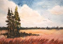landscape painting watercolor lesson by bobby walters