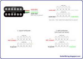 gibson 4 wire humbucker wiring diagram images tele wiring diagram 4 wire guitar humbucker pickup wiring diagram