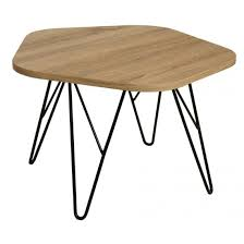 lugano natural wooden coffee table with