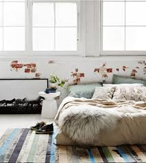 accent cowhide rugs for bedroom