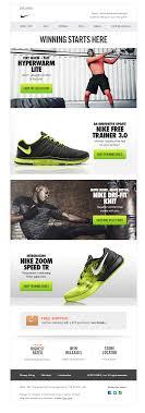 Nike Email Design Nike Newsletter Web Banner Design Banner Design Nike Website