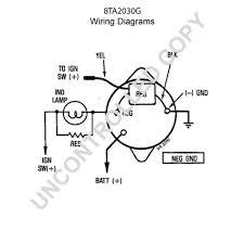 8ta2030g alternator product details prestolite leece neville ford wiring diagram wiring large size