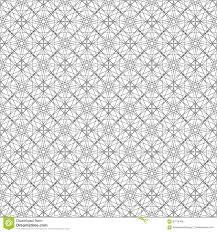 Naadloos Patroon Van Lijnen Om Lijnen Mooi Behang Vector Illustratie