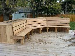 outdoor bench with planter boxes patio planters luxury for best ideas on garden box b