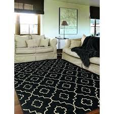 black rug 8x10 grey