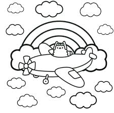 Coloring Pages Pusheen Cat Coloring Sheets Pages Lovely The Best