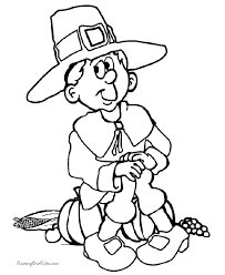 Small Picture Kids Thanksgiving Coloring Pages