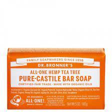 DR. BRONNERS Tea Tree Pure Castile Soap ...