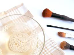 how to clean makeup brushes with home remes