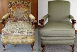 u ackermanus furniture service before after slipper chair reupholstery  before Furniture Upholstery Before And After u