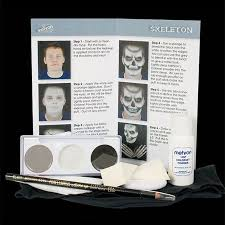 mehron skeleton makeup kit