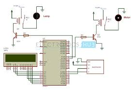 bluetooth controlled electronic home appliances bluetooth controlled electronic home appliances system circuit diagram