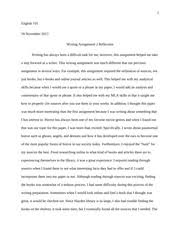 cultural identity essay reflection writing assignment  2 pages monster theory essay reflection writing assignment 2
