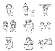 Kids Doodle - Color & Draw Child Drawing Play - 9 hand-painted ...