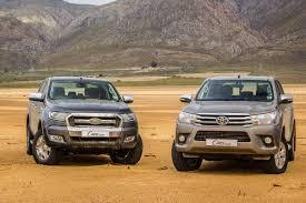 Toyota Hilux vs Ford Ranger vs Isuzu KB vs Volkswagen Amarok (2016 ...